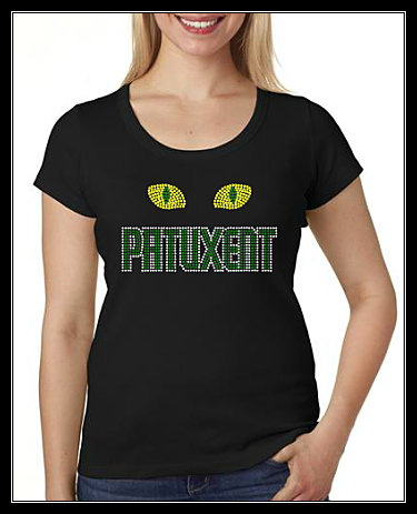 PATUXENT CAT EYES RHINESTONE SHIRT