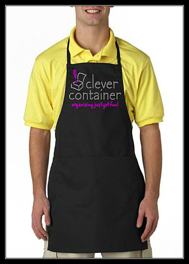 CLEVER CONTAINER RHINESTONE APRON