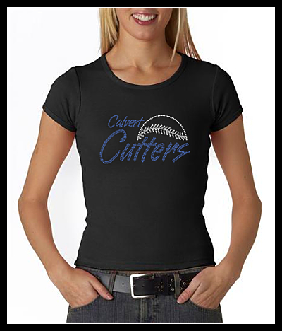 "CUTTERS ""LACES"" RHINESTONE SHIRT"