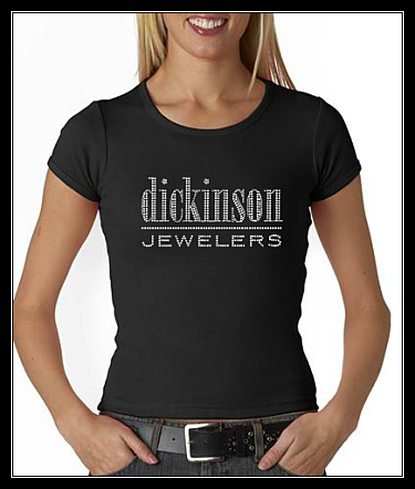 DICKINSON JEWELERS RHINESTONE SHIRT