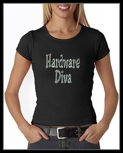 HARDWARE DIVA SHIRT