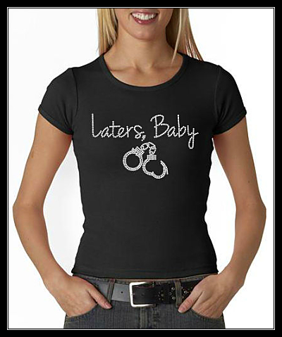 LATERS, BABY RHINESTONE SHIRT 2