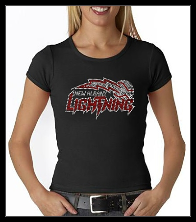 NEW ALBANY LIGHTNING RHINESTONE SHIRT