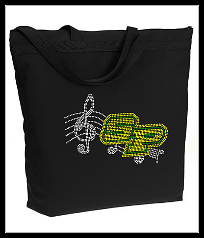 SP BAND RHINESTONE BAG