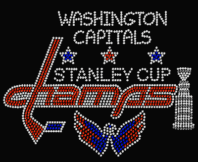 WASHINGTON CAPITALS STANLEY CUP CHAMPS TRANSFER OR DIGITAL DOWNLOAD