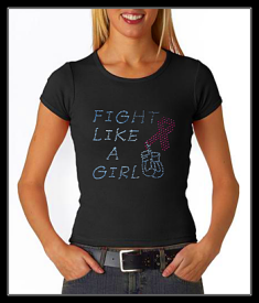 FIGHT LIKE A GIRL- BREAST CANCER TRANSFER OR DIGITAL DOWNLOAD