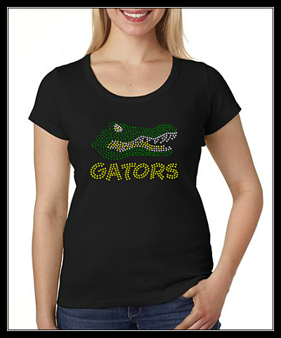 GATORS RHINESTONE TRANSFER OR DIGITAL DOWNLOAD