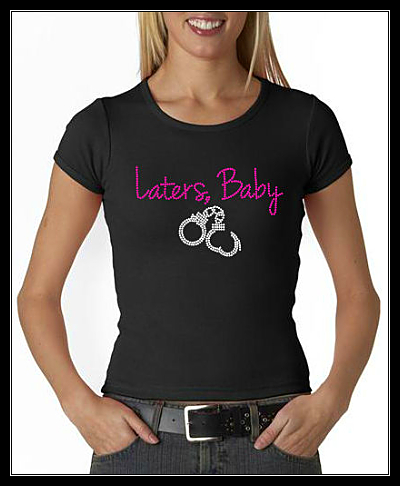 LATERS, BABY RHINESTONE SHIRT 3