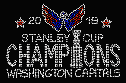 WASHINGTON CAPITALS STANLEY CUP CHAMPIONS TRANSFER OR DIGITAL DOWNLOAD