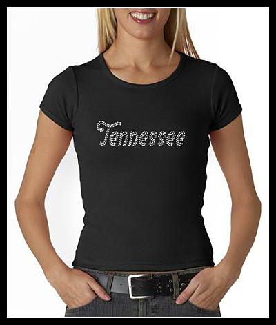 TENNESSEE RHINESTONE SHIRT